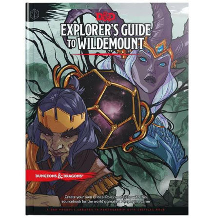 D&D 5th Explorers guide to Wildemount (Release ca Mars 2020)