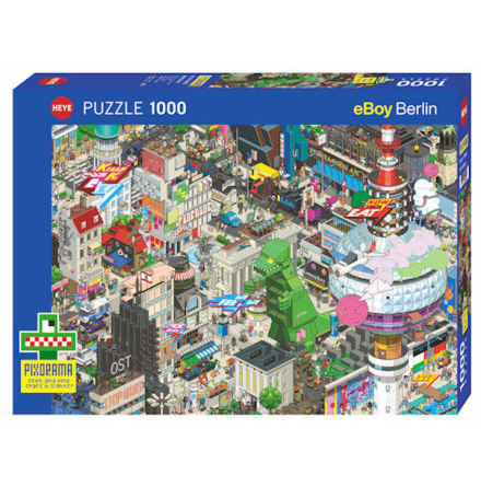 Berlin Quest Standard 1000 pieces
