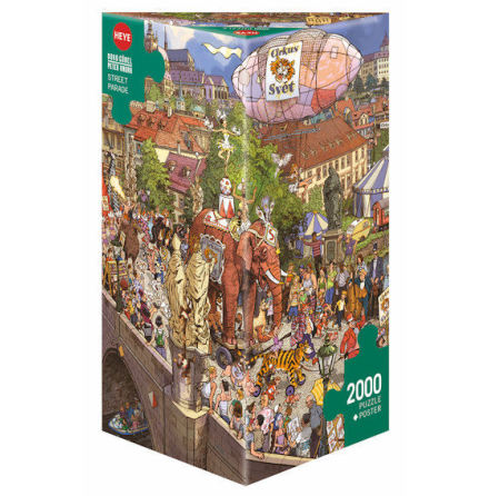 Street Parade, Göbel/Knorr 2000 pieces Triangular
