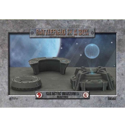 Galactic Warzones - Objectives