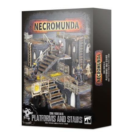 NECROMUNDA: ZONE MORTALIS PLATFORMS & STAIRS