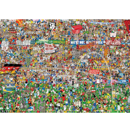 Football History 3000 pieces