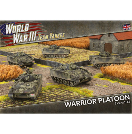 Warrior Platoon (x5 Plastic)