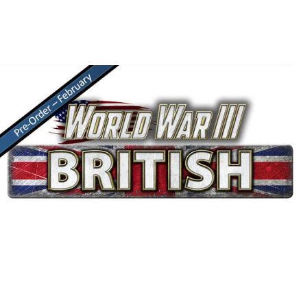 WWIII British Decal Set (x4)