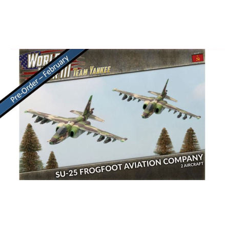 SU-25 Frogfoot Aviation Company (x2 Plastic)