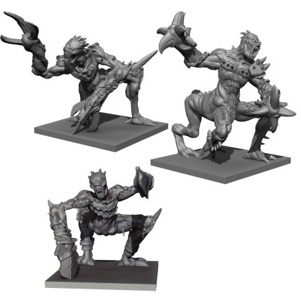 Abyssal Dwarf Grotesques Regiment (release Mars 2020)