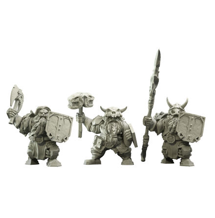VANGUARD: Northern Alliance Dwarf Clansmen