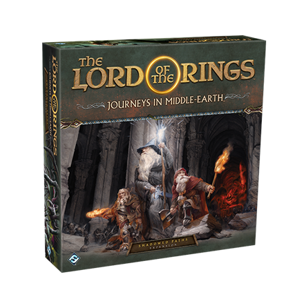 Lord of the Rings: Journeys in Middle-Earth: Shadowed Paths