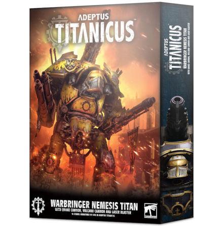 ADEPTUS TITANICUS: WARBRINGER NEMESIS TITAN WITH QUAKE CANNON