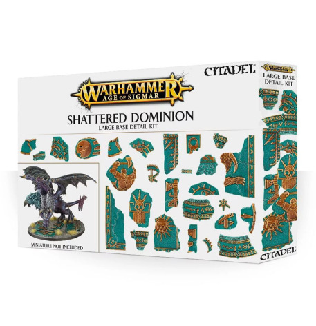 AOS: SHATTERED DOMINION LARGE BASE DETAIL