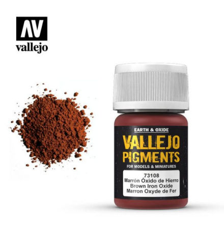 Pigment: Brown Iron Oxide