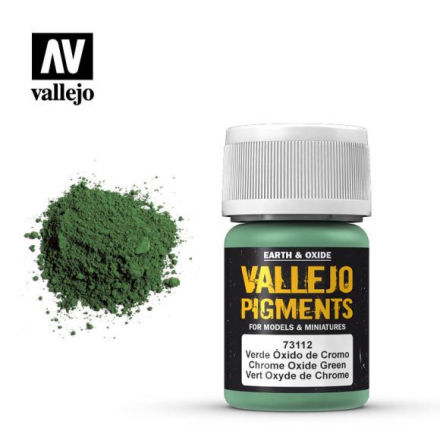 Pigment: Chrome Oxide Green