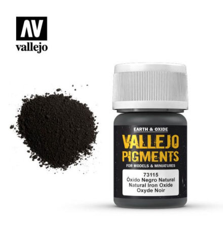Pigment: Natural Iron Oxide