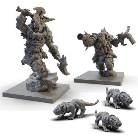 VANGUARD: Ogre Warband Booster (release Juni 2020)
