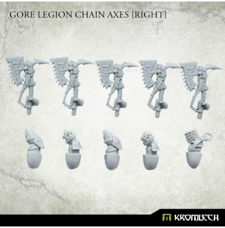 Gore Legion Chain Axes [right]