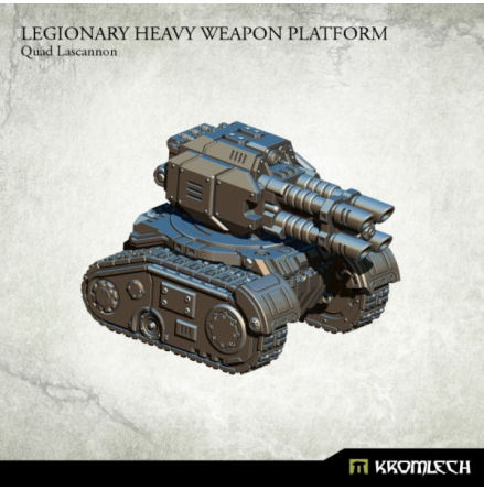 Legionary Heavy Weapon Platform: Quad Lascannon