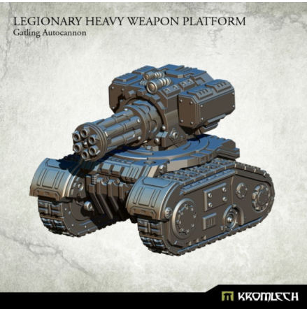 Legionary Heavy Weapon Platform: Gatling Autocannon