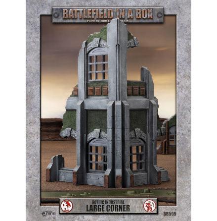 Gothic Industrial - Large Corner