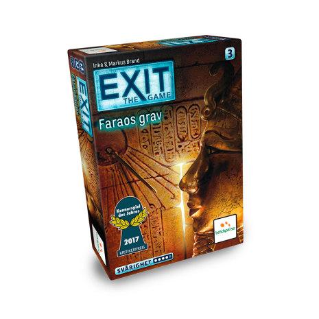 EXIT: Faraos Grav (SE) (Spiel des Jahres Nominerad 2017)
