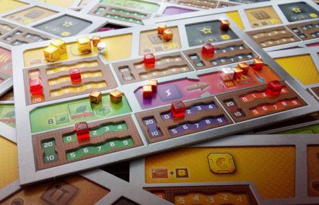 Terraforming Mars: Playerboards Dual Layer