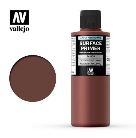 German Red Brown Surface Primer (200 ml)