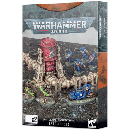 40K: BATTLEZONE MANUFACTORUM BATTLEFIELD