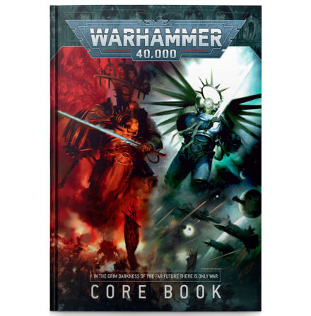 WARHAMMER 40000: CORE BOOK 9th ed (ENGLISH)