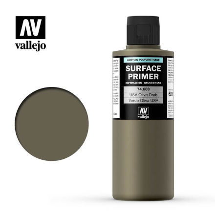 US Olive Drab Surface Primer (200 ml)