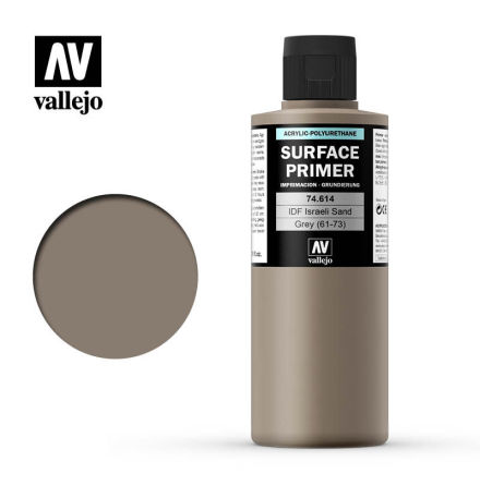IDF Israeli Sand Grey Surface Primer (200 ml)