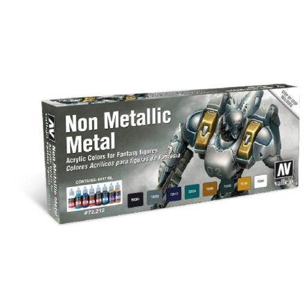 NON METALLIC METAL SET (8 colors)