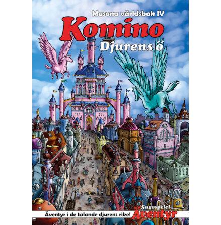 Sagospelet Äventyr: Komino - Djurens ö, Masona världsbok IV