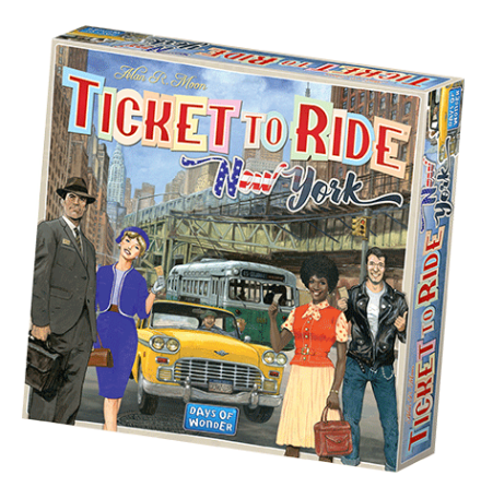 Ticket To Ride New York (Nordic)