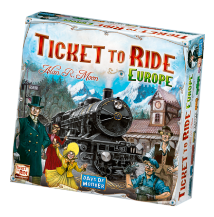 Ticket to Ride: Europe (Nordic)