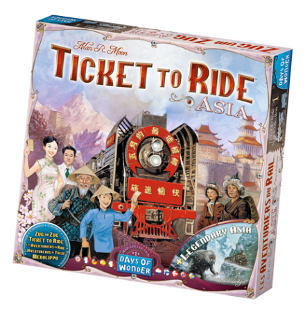 Ticket to Ride: Map Collection 1 (Asia)