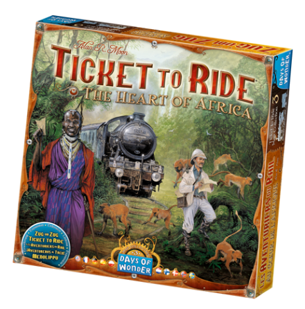 Ticket to Ride: Map Collection 3 The Heart of Africa
