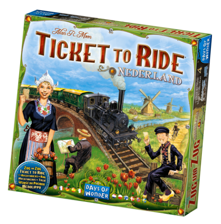Ticket to Ride: Map Collection 4 Nederland