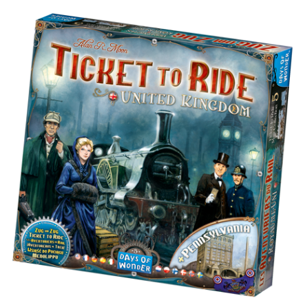 Ticket to Ride: Map Collection 5 United Kingdom