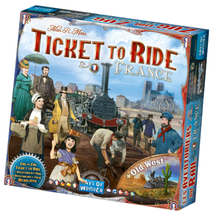 Ticket to Ride: Map Collection 6 France
