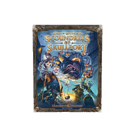 D&D Boardgame: Lords of Waterdeep Scoundrels of Skullport Expansion