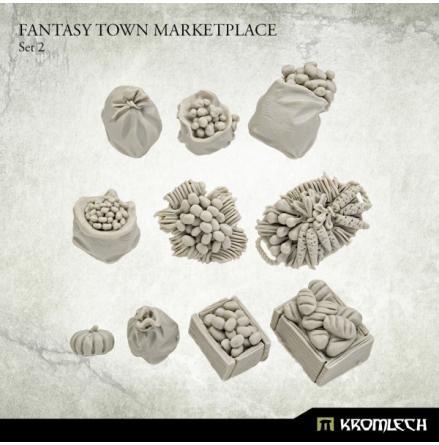 Fantasy Town Marketplace Set 2
