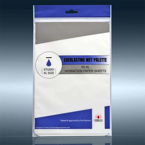 Everlasting Wet Palette - Hydration Paper Studio 50 sheets