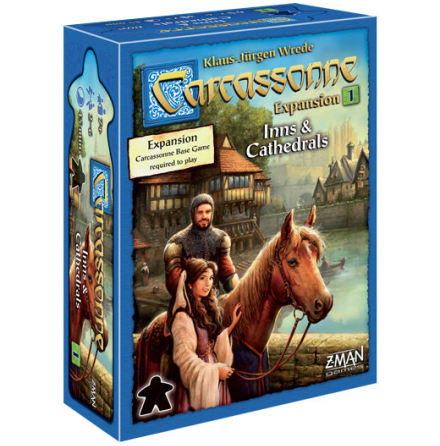 Carcassonne 2.0 Exp 1: Inns & Cathedrals (Eng)