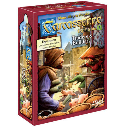 Carcassonne 2.0 Exp 2: Traders & Builders (Eng)