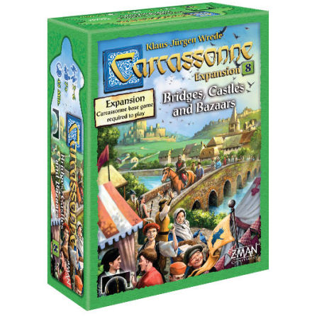 Carcassonne: 8 Bridges, Castles & Bazars (Scand)