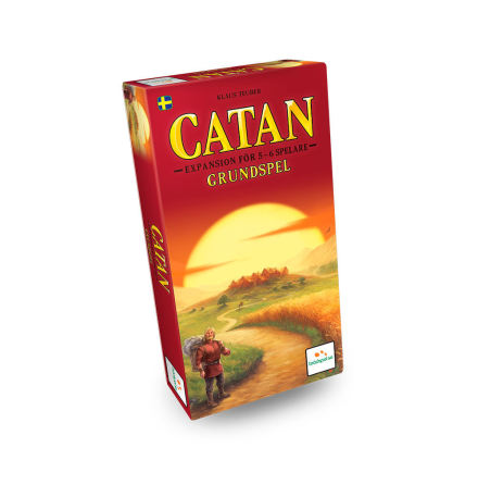 Catan 5th ed 5-6 Spelare Expansion (Svensk)