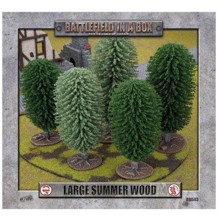 Large Summer Wood (15-25 mm skala)