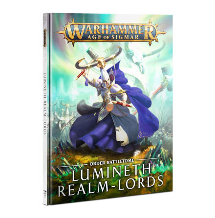 BATTLETOME: LUMINETH REALM-LORDS (HB) ENG