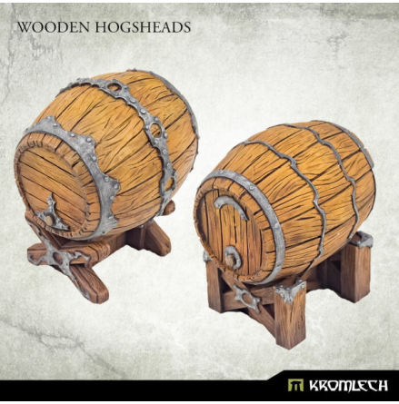 Wooden Hogsheads