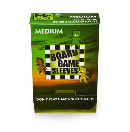 Non-Glare: MEDIUM (57x89mm) - Board Game Sleeves
