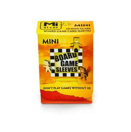 Non-Glare: MINI (41x63mm) - Board Game Sleeves